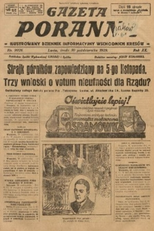 Gazeta Poranna : ilustrowany dziennik informacyjny wschodnich kresów. 1929, nr9026