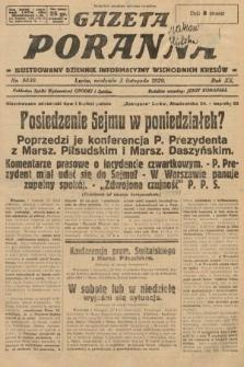 Gazeta Poranna : ilustrowany dziennik informacyjny wschodnich kresów. 1929, nr9030