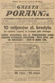 Gazeta Poranna : ilustrowany dziennik informacyjny wschodnich kresów. 1929, nr9035