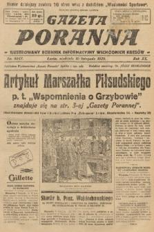 Gazeta Poranna : ilustrowany dziennik informacyjny wschodnich kresów. 1929, nr9037