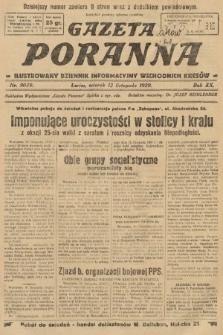Gazeta Poranna : ilustrowany dziennik informacyjny wschodnich kresów. 1929, nr9039