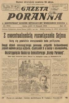 Gazeta Poranna : ilustrowany dziennik informacyjny wschodnich kresów. 1929, nr9042