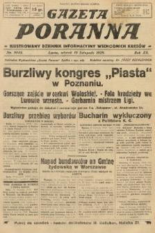 Gazeta Poranna : ilustrowany dziennik informacyjny wschodnich kresów. 1929, nr9046
