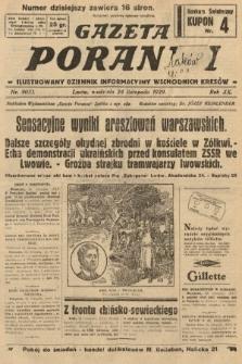 Gazeta Poranna : ilustrowany dziennik informacyjny wschodnich kresów. 1929, nr9051