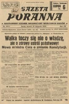 Gazeta Poranna : ilustrowany dziennik informacyjny wschodnich kresów. 1929, nr9053