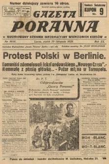 Gazeta Poranna : ilustrowany dziennik informacyjny wschodnich kresów. 1929, nr9056