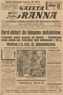 Gazeta Poranna : ilustrowany dziennik informacyjny wschodnich kresów. 1929, nr9059