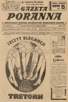 Gazeta Poranna : ilustrowany dziennik informacyjny wschodnich kresów. 1929, nr9062
