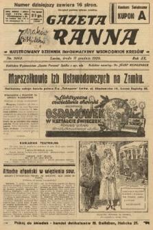 Gazeta Poranna : ilustrowany dziennik informacyjny wschodnich kresów. 1929, nr9068