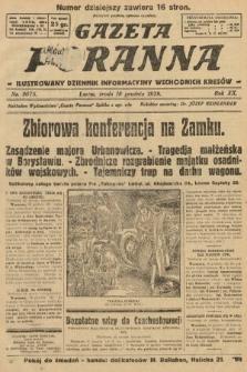 Gazeta Poranna : ilustrowany dziennik informacyjny wschodnich kresów. 1929, nr9075