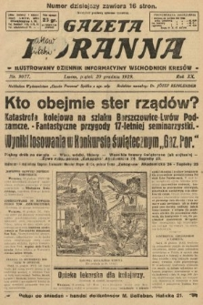 Gazeta Poranna : ilustrowany dziennik informacyjny wschodnich kresów. 1929, nr9077