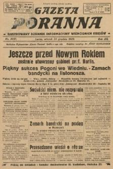 Gazeta Poranna : ilustrowany dziennik informacyjny wschodnich kresów. 1929, nr9081