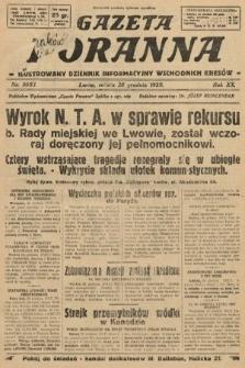 Gazeta Poranna : ilustrowany dziennik informacyjny wschodnich kresów. 1929, nr9083