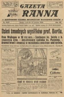 Gazeta Poranna : ilustrowany dziennik informacyjny wschodnich kresów. 1929, nr9084