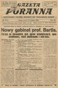 Gazeta Poranna : ilustrowany dziennik informacyjny wschodnich kresów. 1929, nr9086