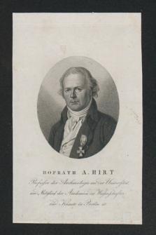 Autografy Aloysa Hirta i inne materiały z nim związane