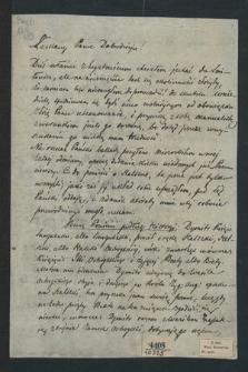 Dwa listy do Władysława Kucewicza od Stanisława Moniuszki (1857 r.) oraz od Macieja Bardskiego (1825 r.)