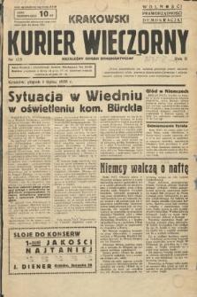 Krakowski Kurier Wieczorny : niezależny organ demokratyczny. 1938, nr175