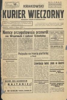 Krakowski Kurier Wieczorny : niezależny organ demokratyczny. 1938, nr176