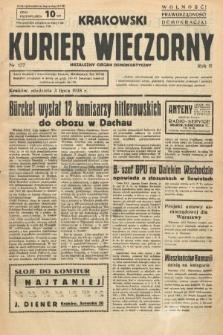 Krakowski Kurier Wieczorny : niezależny organ demokratyczny. 1938, nr177