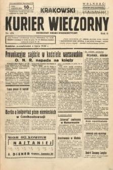 Krakowski Kurier Wieczorny : niezależny organ demokratyczny. 1938, nr178