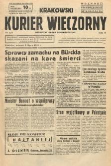 Krakowski Kurier Wieczorny : niezależny organ demokratyczny. 1938, nr179
