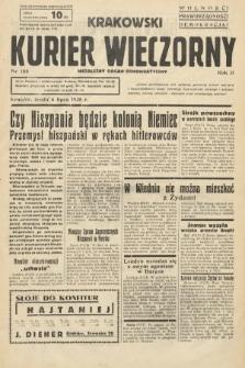 Krakowski Kurier Wieczorny : niezależny organ demokratyczny. 1938, nr180