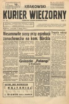 Krakowski Kurier Wieczorny : niezależny organ demokratyczny. 1938, nr181