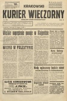Krakowski Kurier Wieczorny : niezależny organ demokratyczny. 1938, nr186