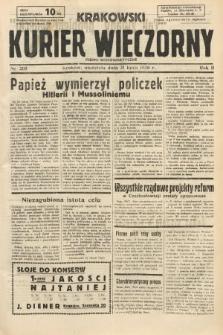 Krakowski Kurier Wieczorny : pismo demokratyczne. 1938, nr205