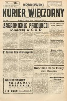 Krakowski Kurier Wieczorny : pismo demokratyczne. 1938, nr210
