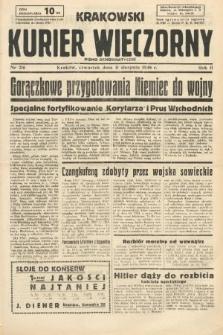 Krakowski Kurier Wieczorny : pismo demokratyczne. 1938, nr216