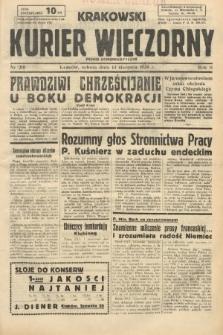 Krakowski Kurier Wieczorny : pismo demokratyczne. 1938, nr218