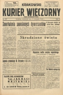 Krakowski Kurier Wieczorny : pismo demokratyczne. 1938, nr219