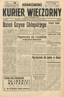 Krakowski Kurier Wieczorny : pismo demokratyczne. 1938, nr220