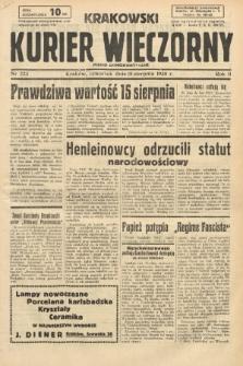 Krakowski Kurier Wieczorny : pismo demokratyczne. 1938, nr223