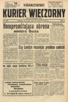 Krakowski Kurier Wieczorny : pismo demokratyczne. 1938, nr230