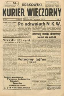 Krakowski Kurier Wieczorny : pismo demokratyczne. 1938, nr237