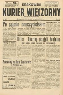 Krakowski Kurier Wieczorny : pismo demokratyczne. 1938, nr238