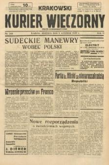 Krakowski Kurier Wieczorny : pismo demokratyczne. 1938, nr240