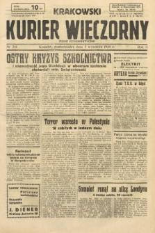 Krakowski Kurier Wieczorny : pismo demokratyczne. 1938, nr241