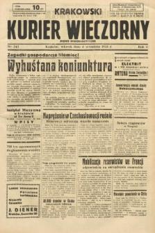 Krakowski Kurier Wieczorny : pismo demokratyczne. 1938, nr242