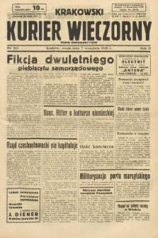 Krakowski Kurier Wieczorny : pismo demokratyczne. 1938, nr243