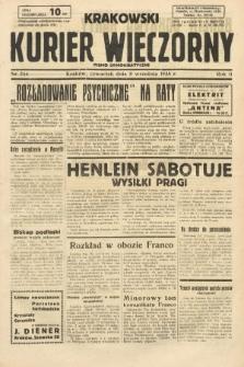 Krakowski Kurier Wieczorny : pismo demokratyczne. 1938, nr244