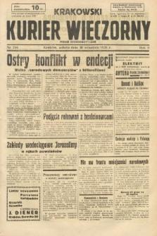 Krakowski Kurier Wieczorny : pismo demokratyczne. 1938, nr246
