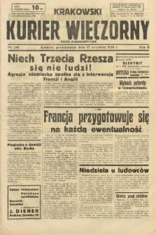 Krakowski Kurier Wieczorny : pismo demokratyczne. 1938, nr248