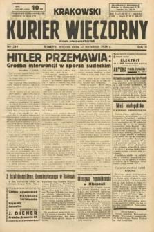 Krakowski Kurier Wieczorny : pismo demokratyczne. 1938, nr249