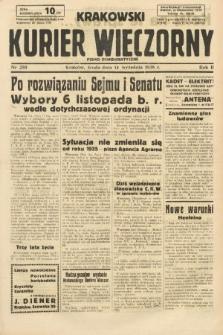 Krakowski Kurier Wieczorny : pismo demokratyczne. 1938, nr250