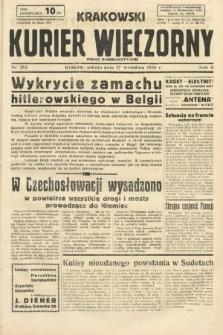Krakowski Kurier Wieczorny : pismo demokratyczne. 1938, nr253