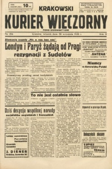 Krakowski Kurier Wieczorny : pismo demokratyczne. 1938, nr256
